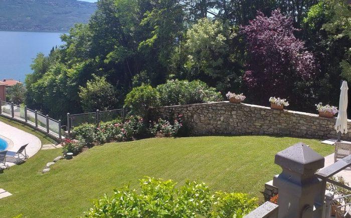 Ausblick auf Garten